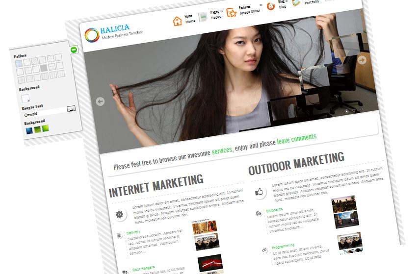Halicia WordPress Tema