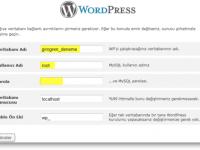 Localhost için WordPress Kurulumu