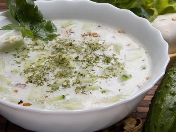 salatalık çorbası