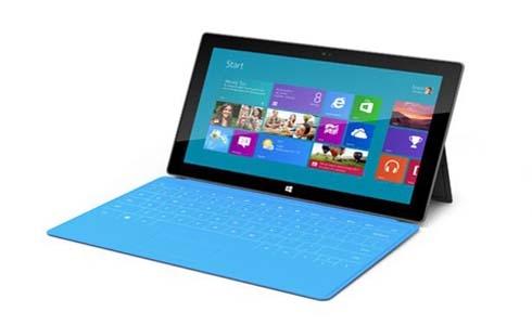 Microsoft Windows 8 Surface Tablet