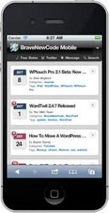 Wordpress Wptouch Eklentisi