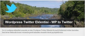Wordpress Twitter Eklentisi