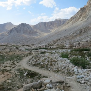 West Side Of Mount Whitney
